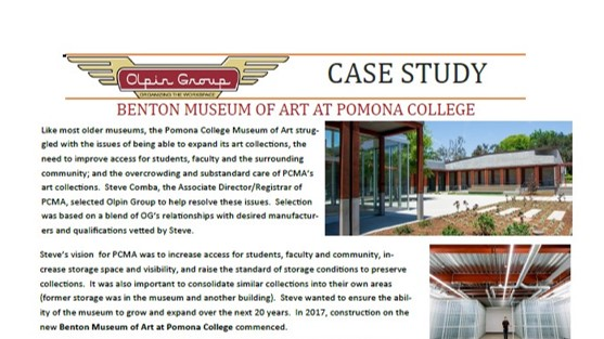 Benton Museum Case Study