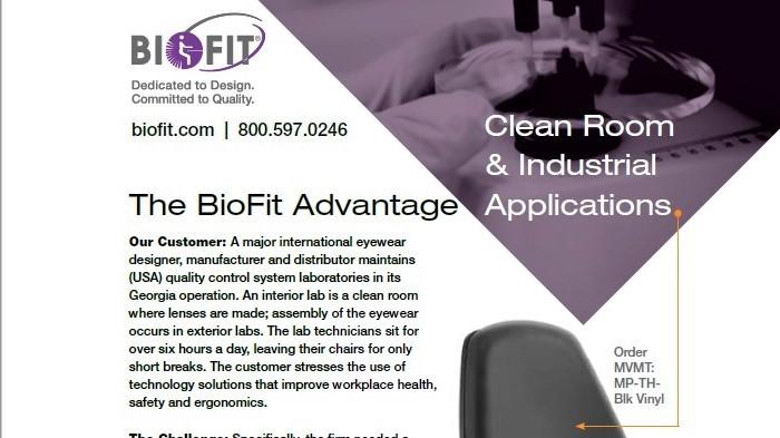 Case Study Image-Biofit Cleanroom Lab