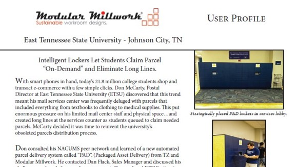 Case study-MM ETSU Lockers