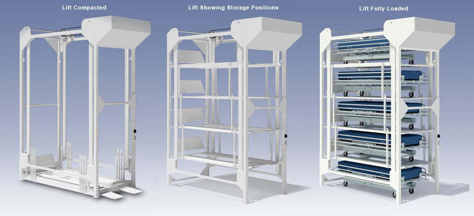 Bedlift storage units