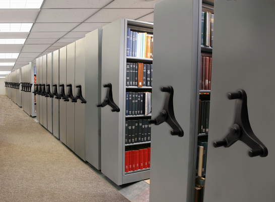 Mobile Shelving-Museum Archives