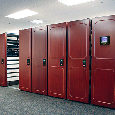 Mobile Shelving-Office Supplies-Equipment