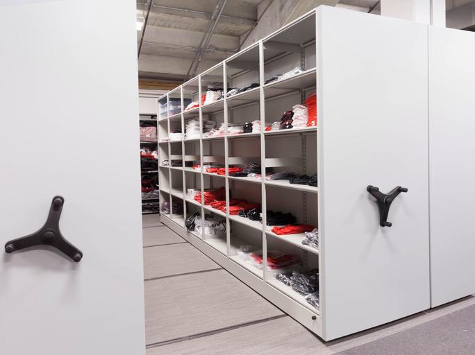 Mobile Shelving-Retail Storage