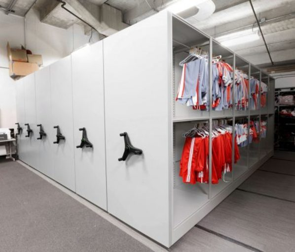 Mobile Shelving-garment storage