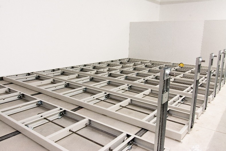 Mobile Shelving Carriages