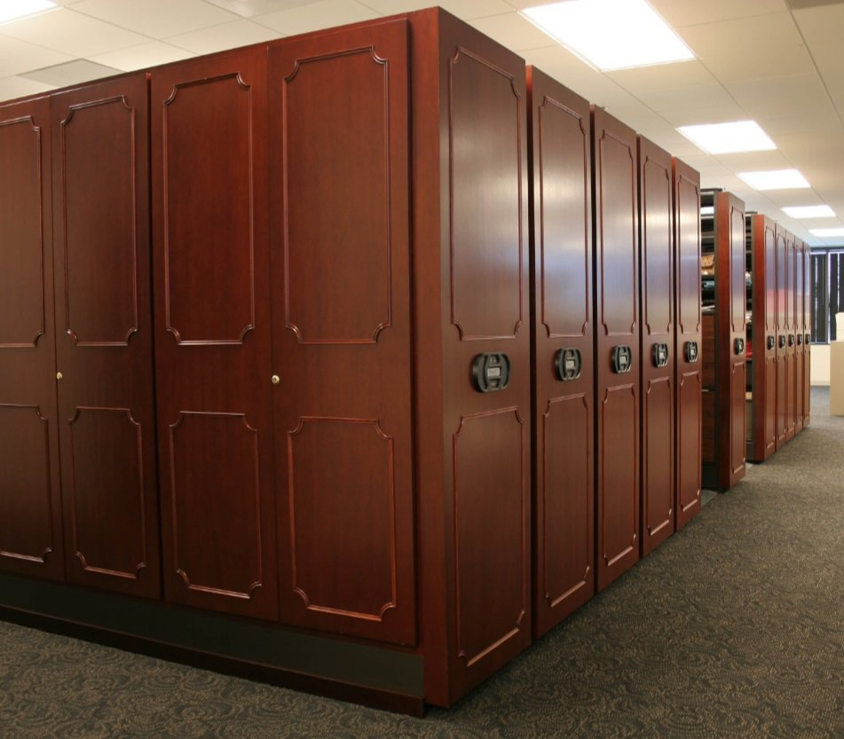 Mobile Shelving-law library
