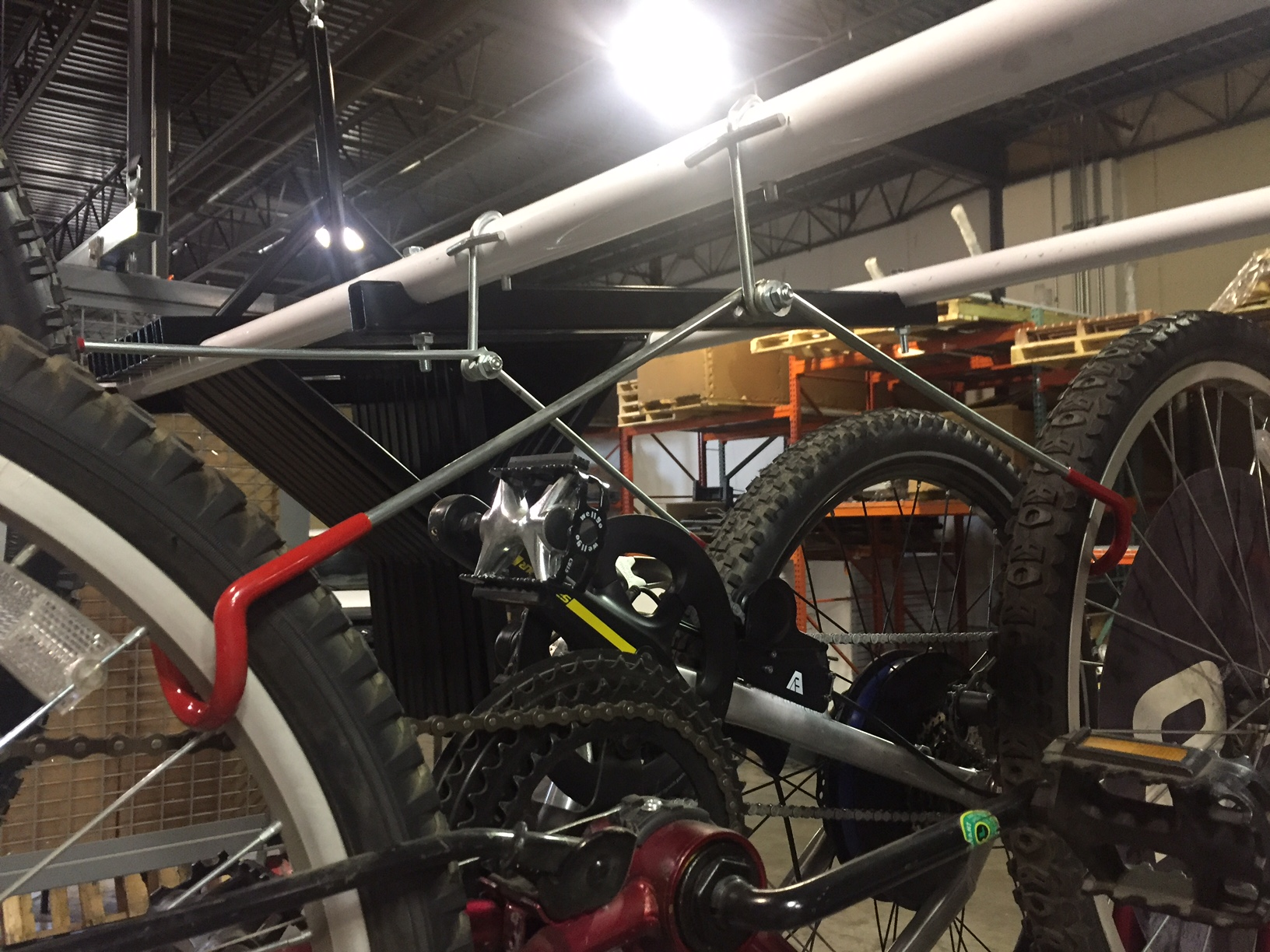 Motorized Bicycle Ceiling Lift