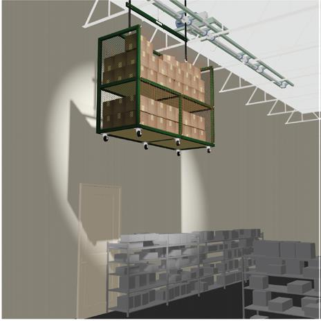 Overhead Cage Green