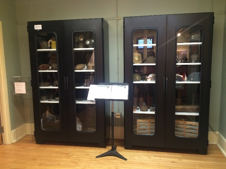 Object Cabinets with Window Doors