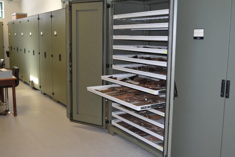 Flat Storage Cabinet