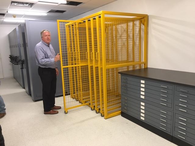 Mobile Storage, Art Racks, Flat Files