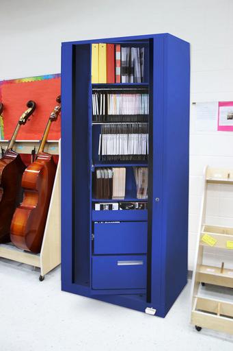 Rotary Cabinet-Music classroom