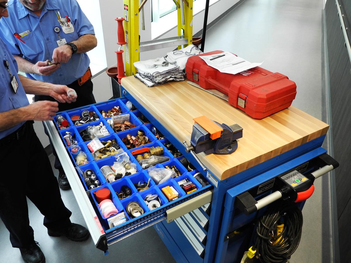 Motorize Tool Box-Modular Drawer