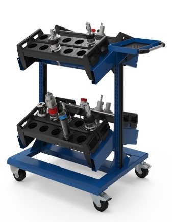 Freestanding CNC Tool Cart