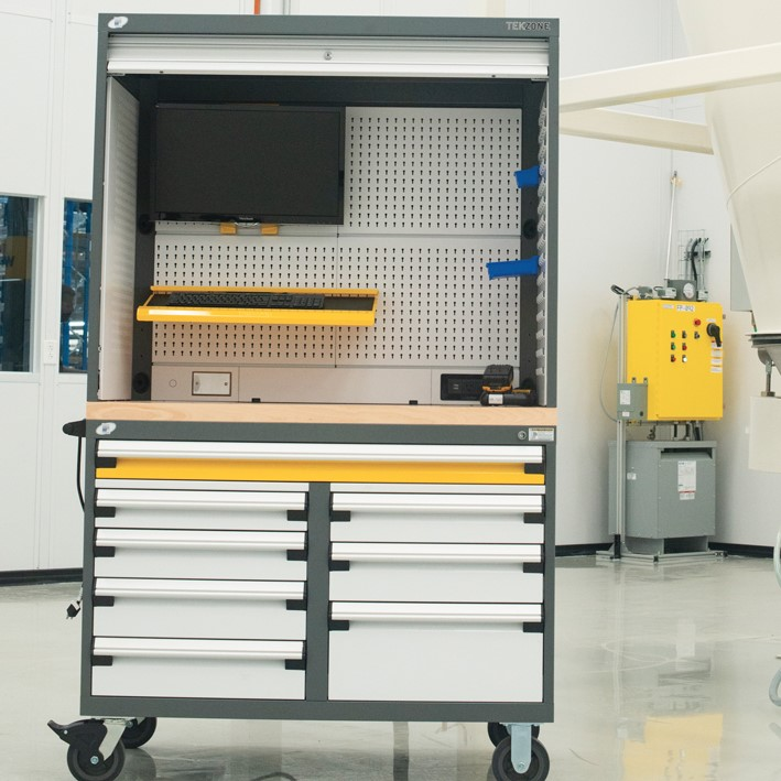 Personal Industrial Mobile Workstation