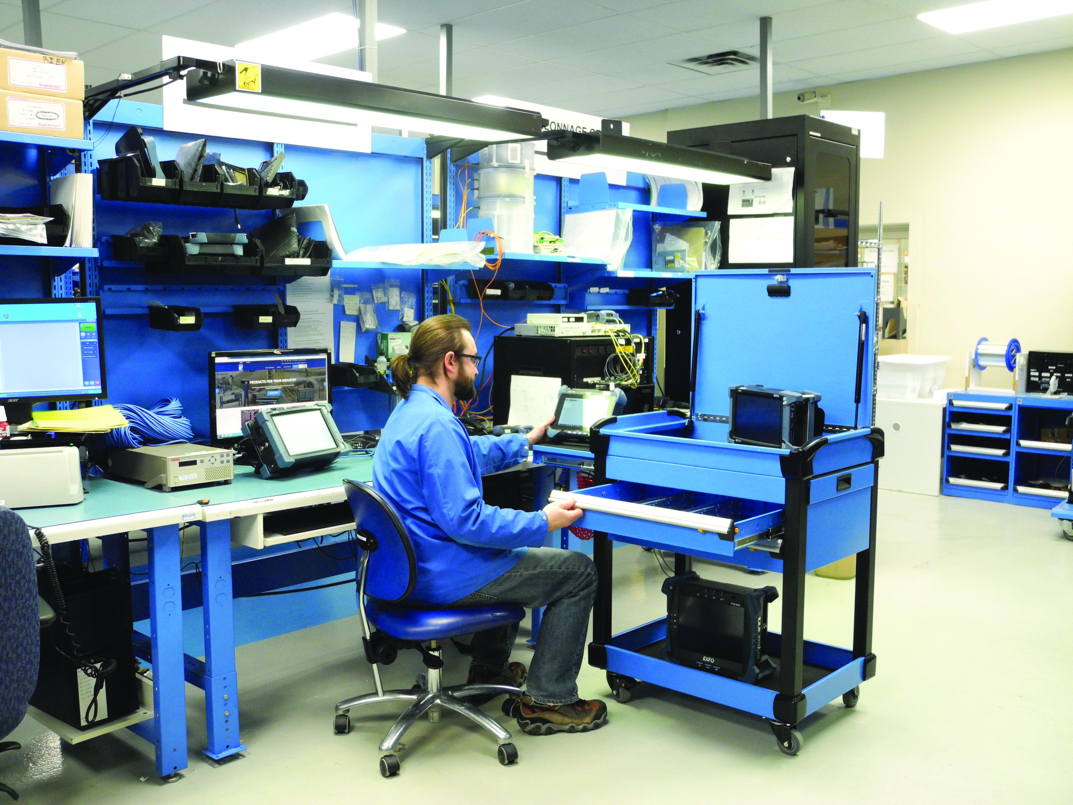 Multitek Tool Cart-manufacturing