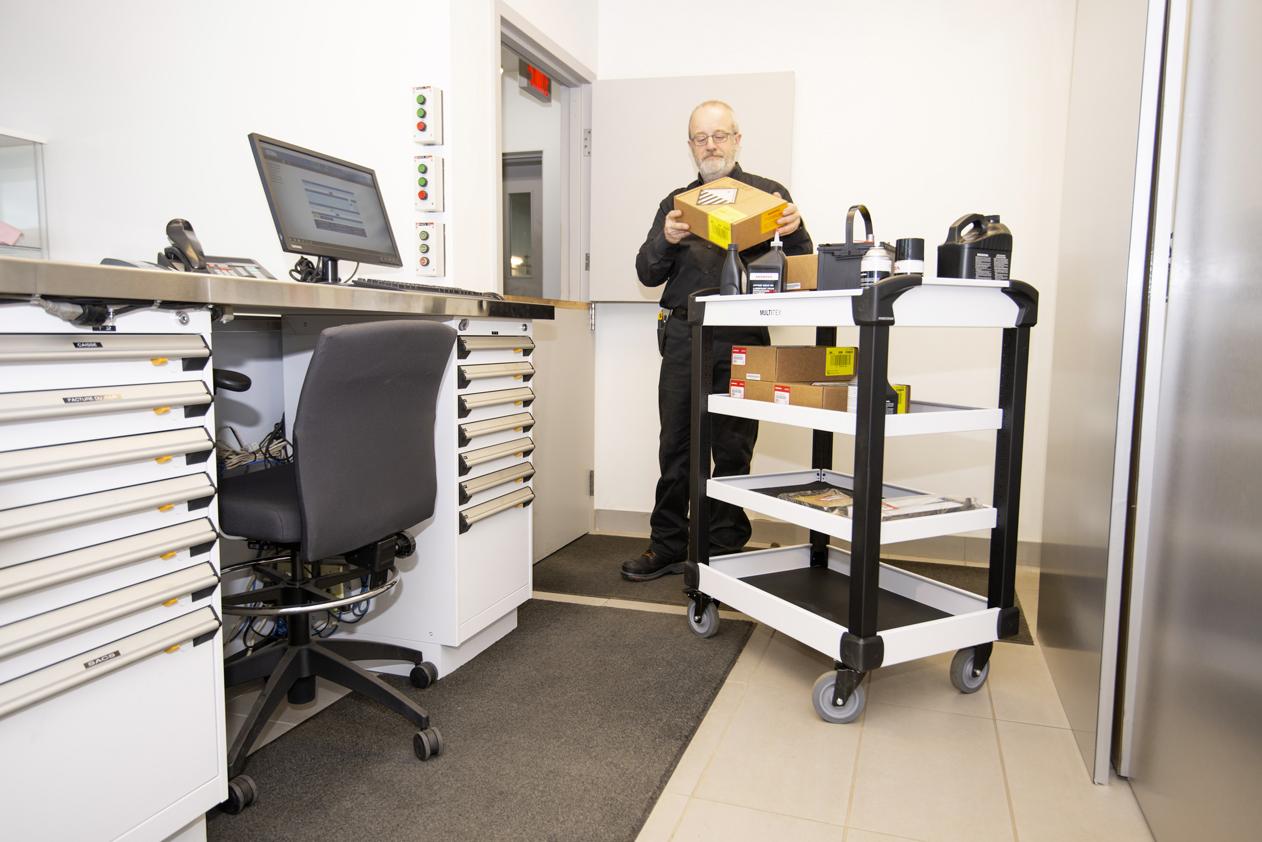 MultiTek Open Cart-material handling