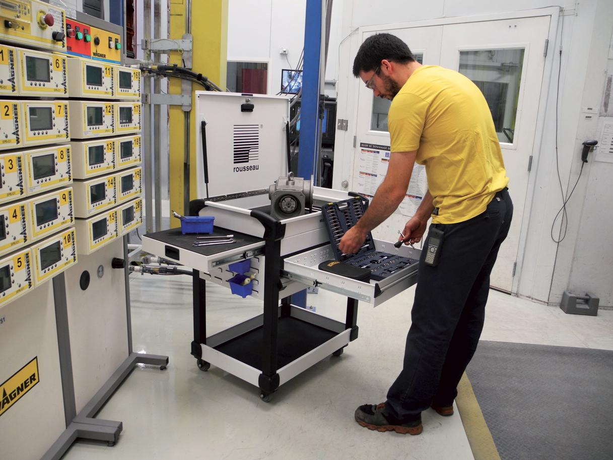 Multitek Tool Cart-mechanical
