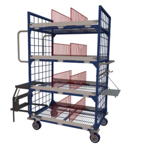 Technibilt-Wire Cart