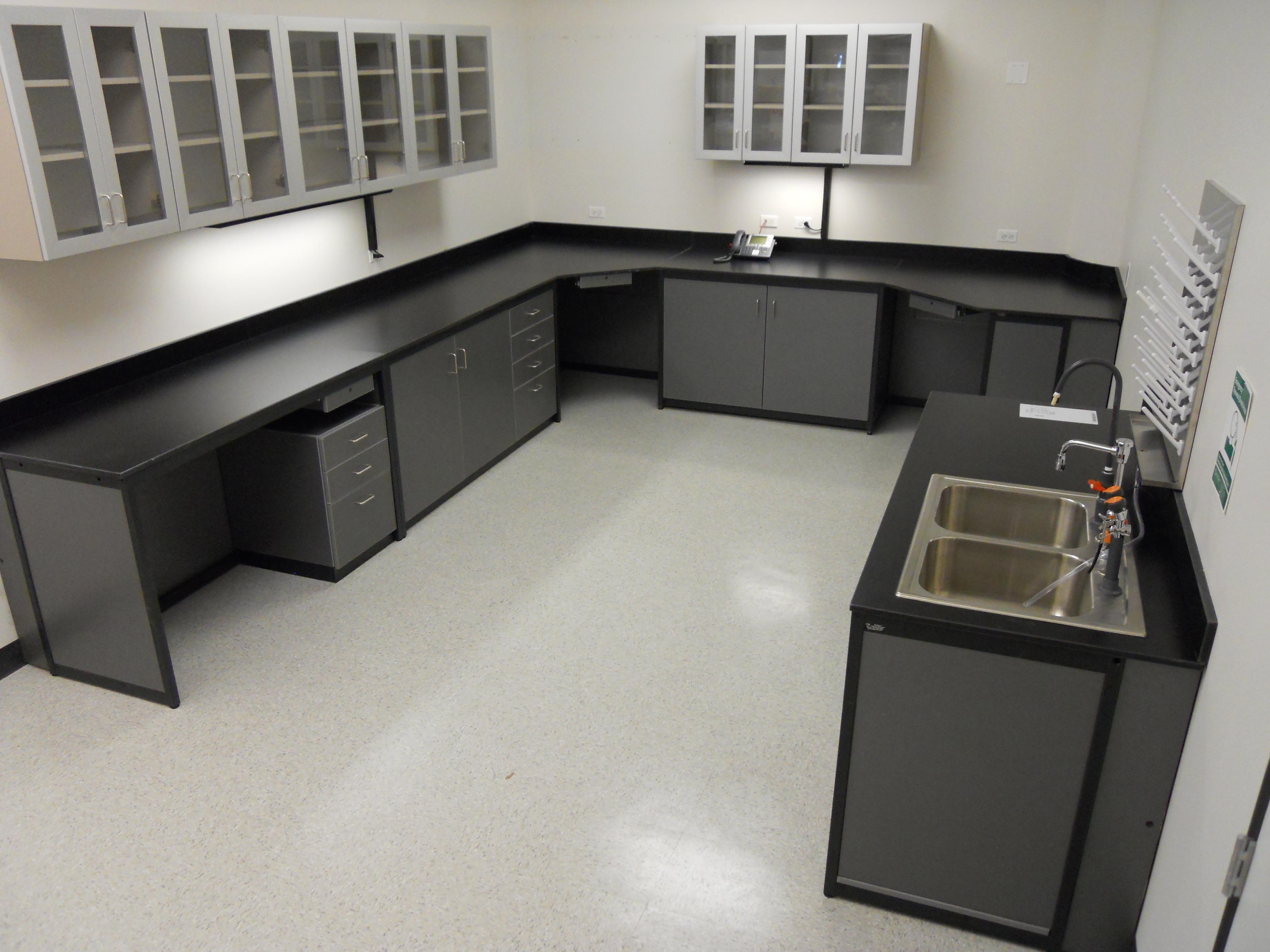 Millwork Wet Chemistry Lab