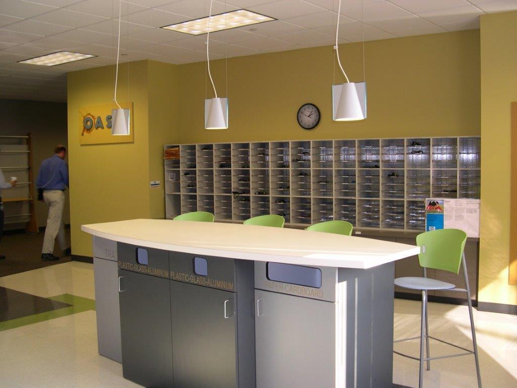 Casework: Desk and Mailroom Sorters