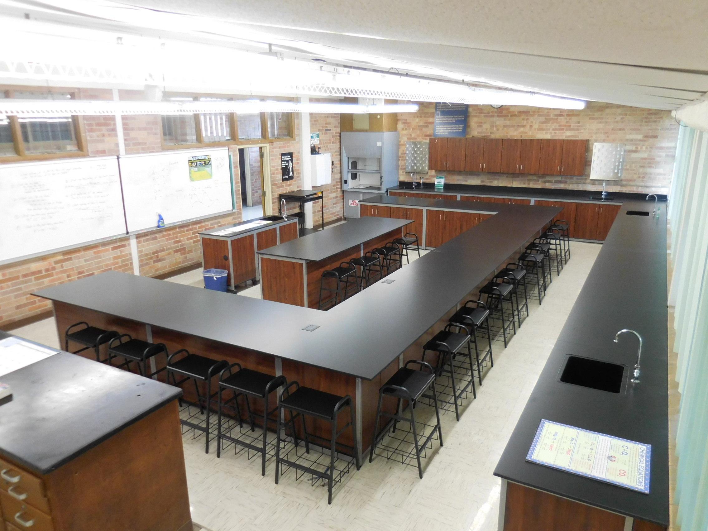 Millwork Classroom