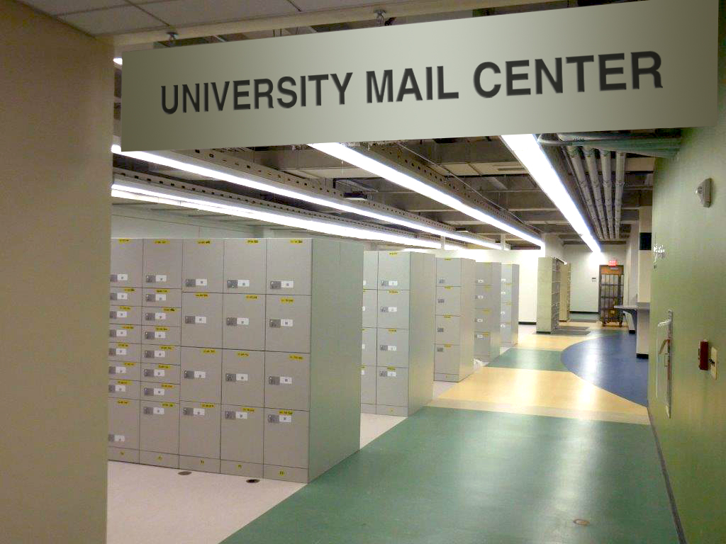 Millwork Smart Lockers for mail centers
