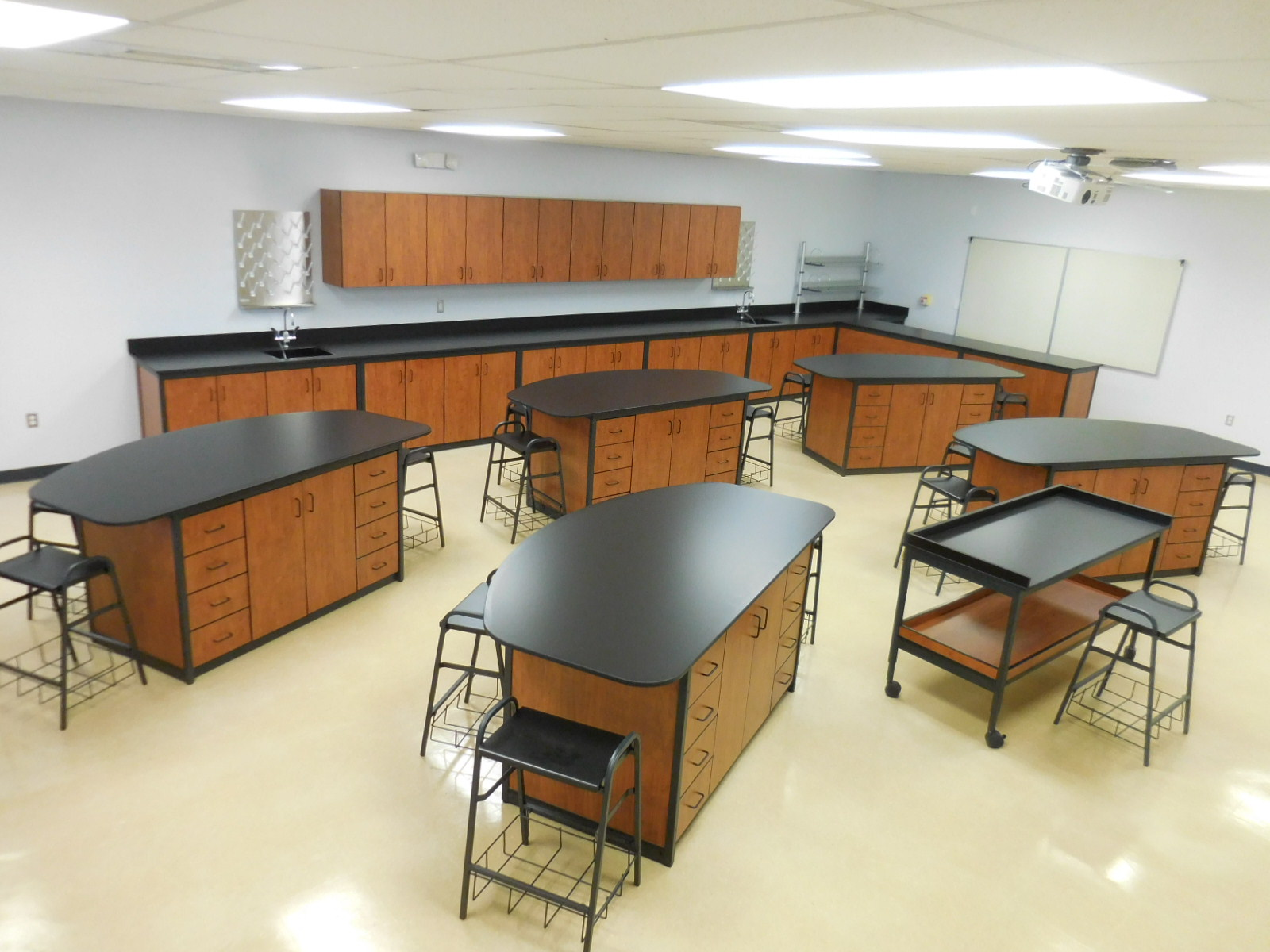 Chemistry Lab with Mobile Teacher Station