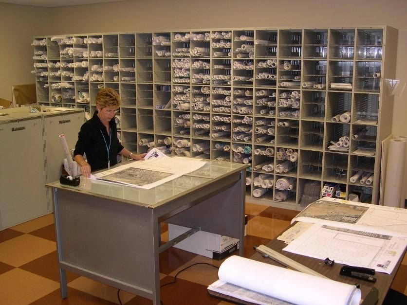 Casework-Map-Plans Storage