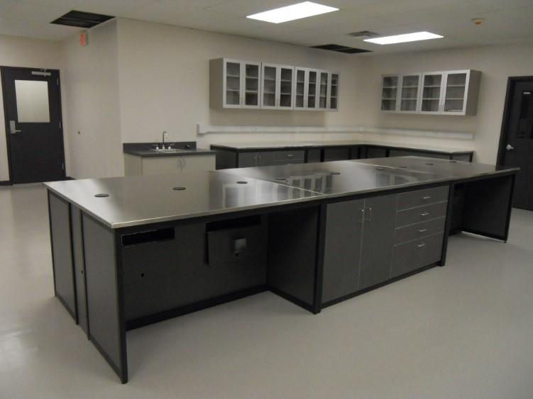 Millwork wet lab workstation