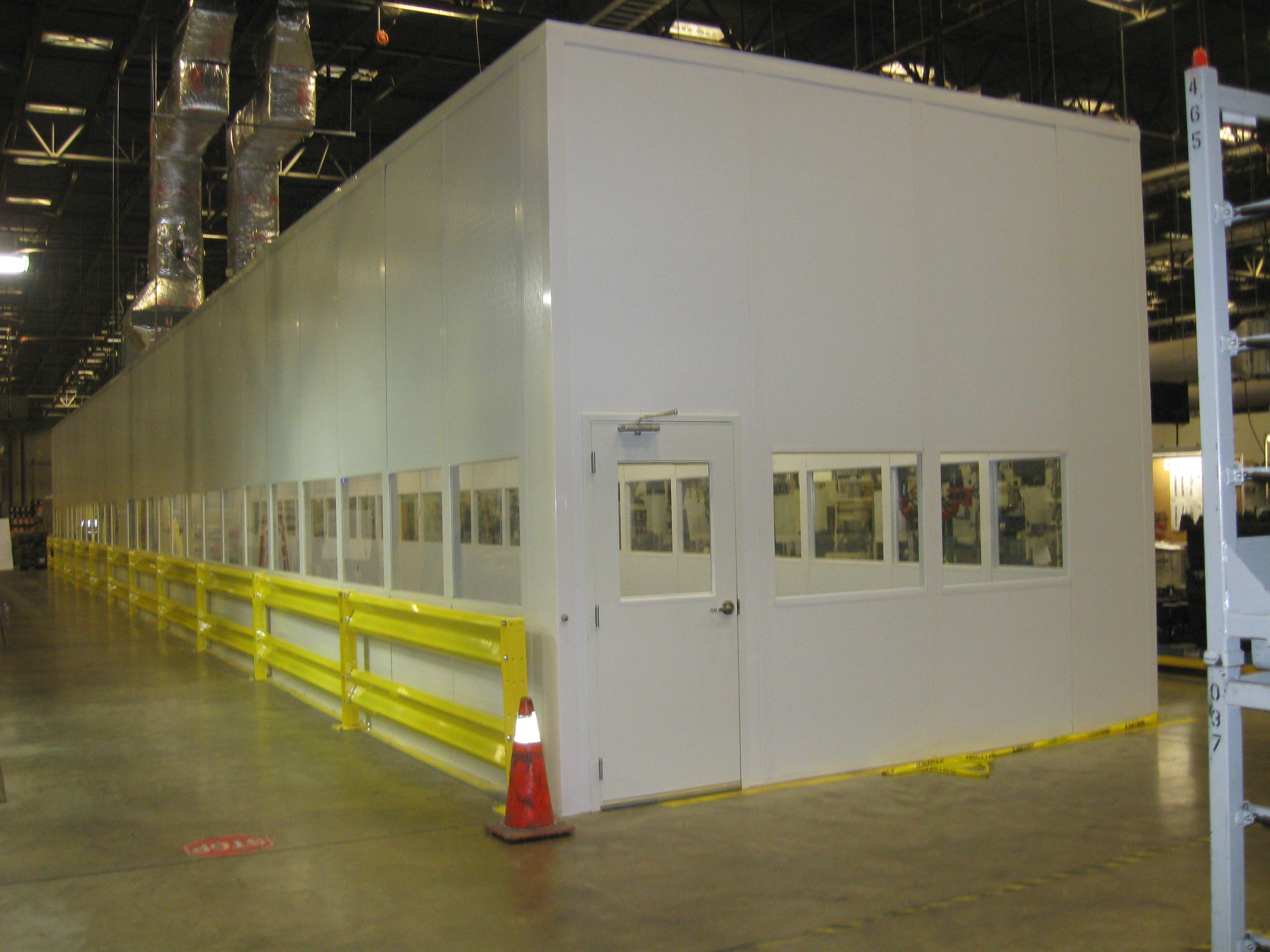 In-plant-Tall-Wall-Modular Building