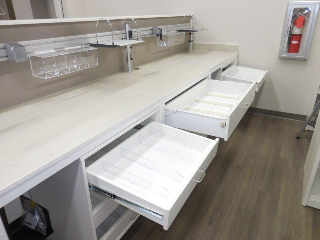 Modular Millwork-Full Extension Drawers