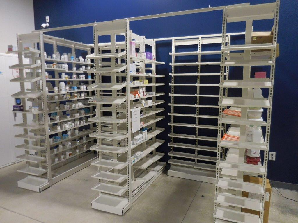 Pharmacy Storage-shelving