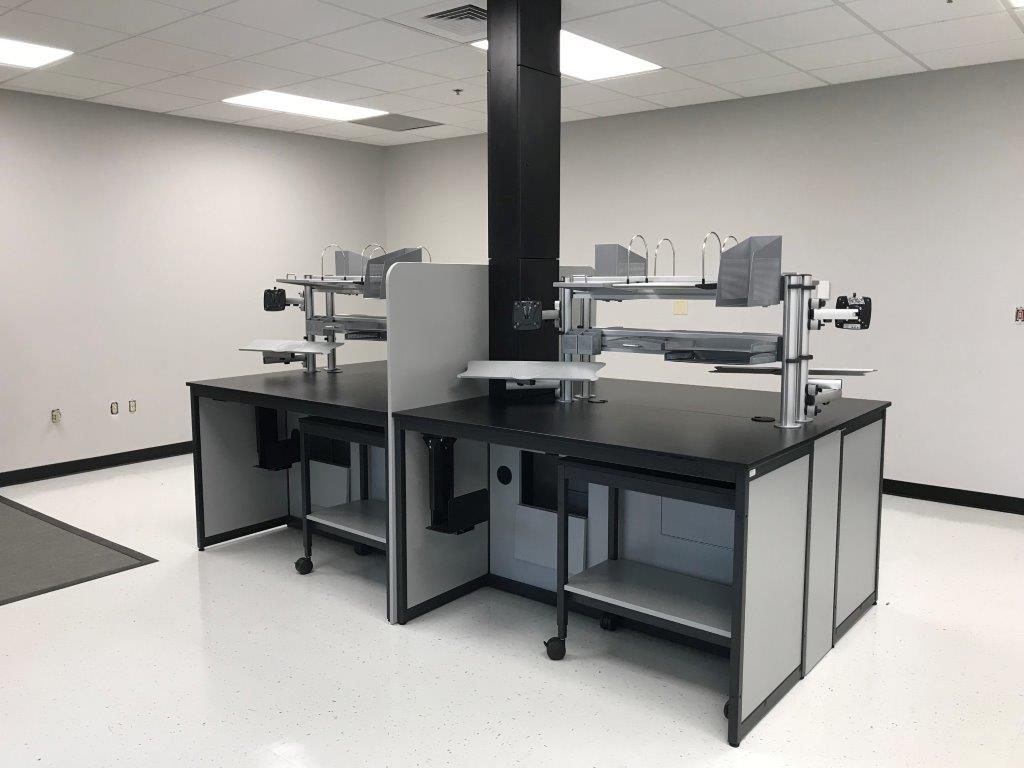 Modular Millwork-Lab Workbenches