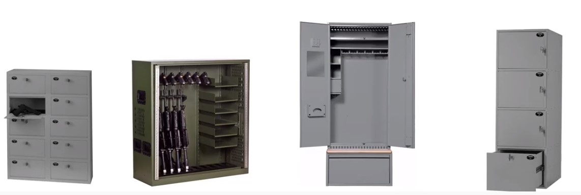 Gear and Weapons Lockers