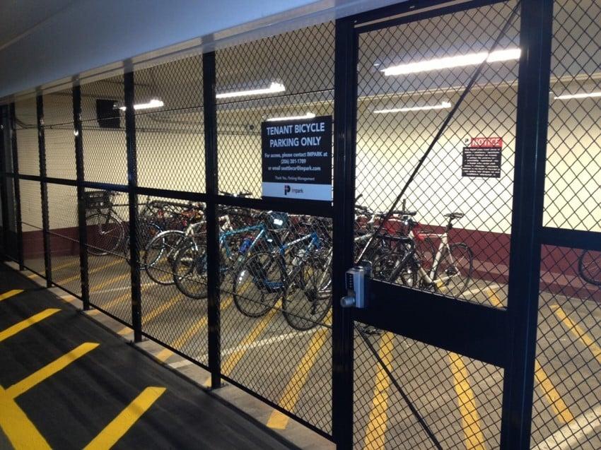Bike Storage wire locker