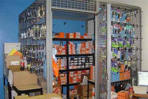 Retail-Welded Wire lockers