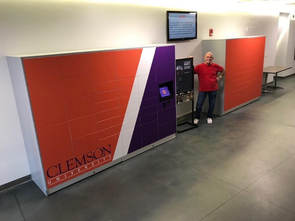 Clemson-Smart Parcel Lockers