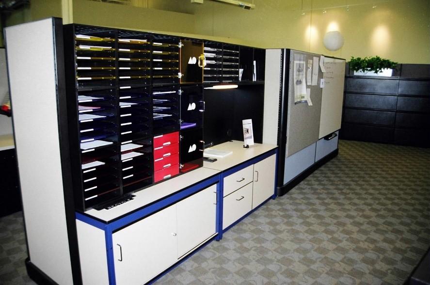 IOPC Mailroom-mail sorters