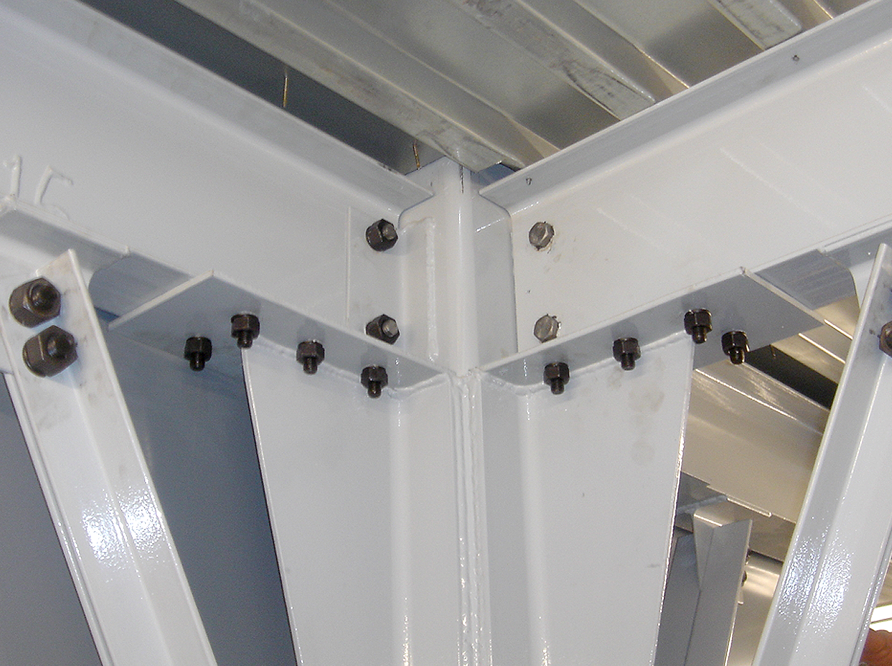 WPSS Mezzanine bolted connections
