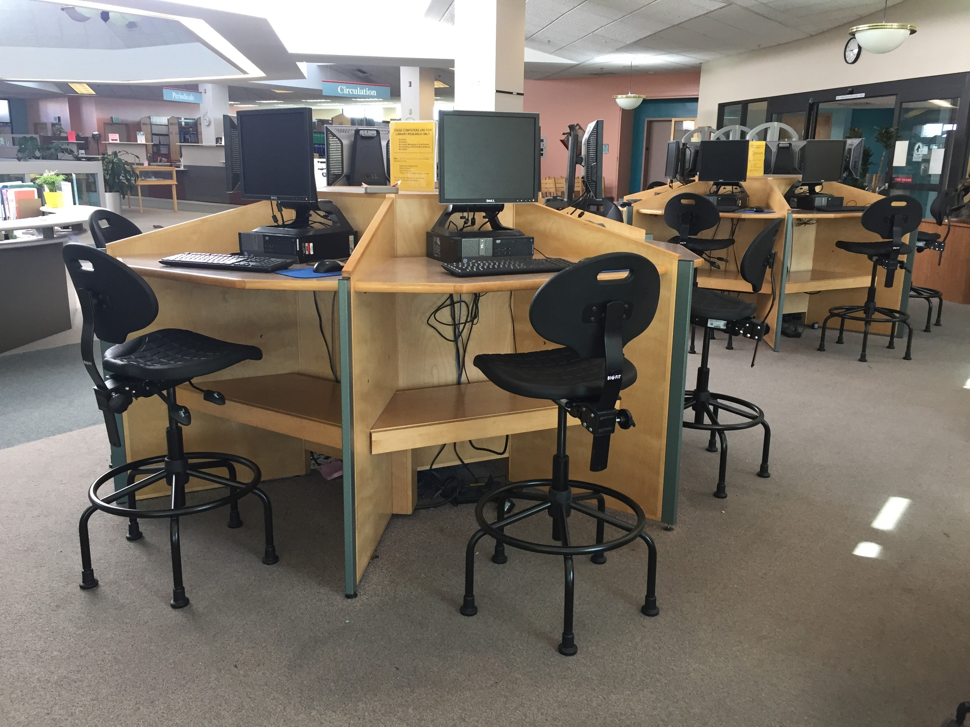 Victorville College-Lab Seating-classroom