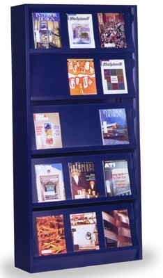 Case-type Shelving-periodical display