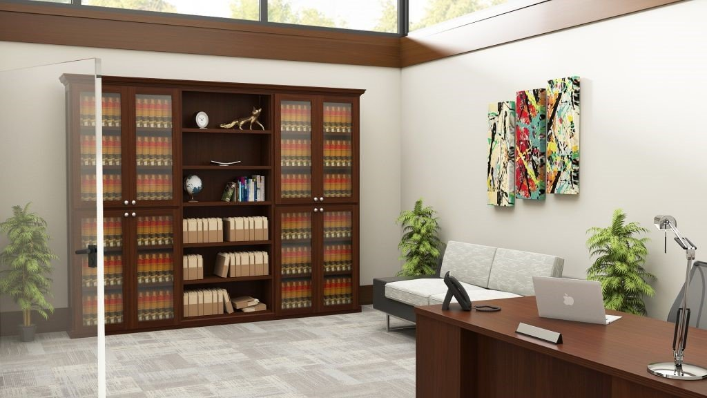 Law Office Library Shelving