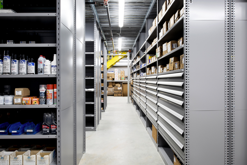 Oxford Dodge-Drawers in Clip Shelving