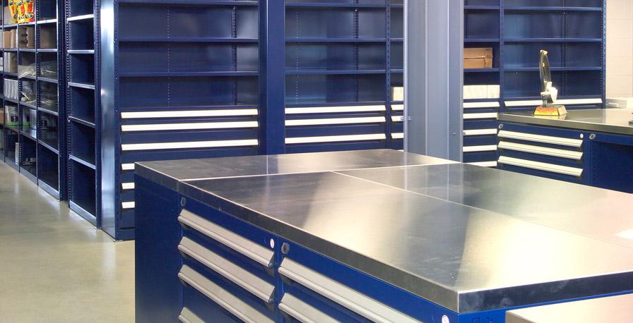 Sun Motors Cabinet and Shelving Drawers