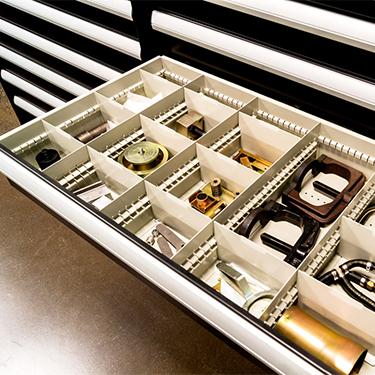 Museum Storage-modular drawers