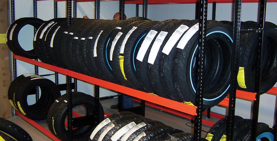Tire Storage Racks-Rousseau