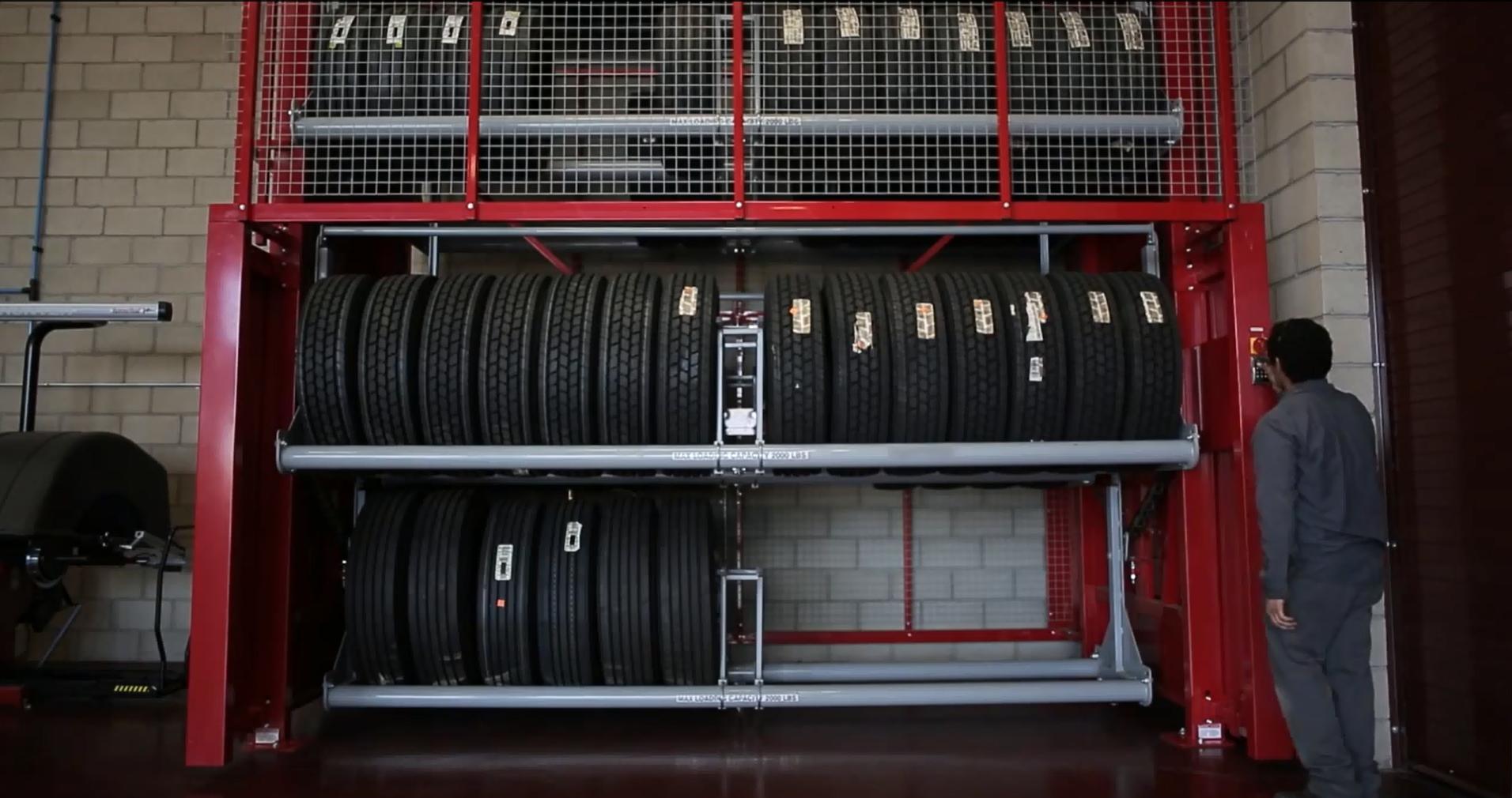 Vidir Tire Carousel Controls