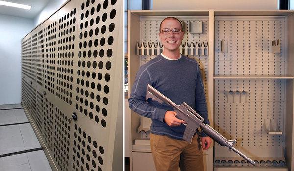 Aurora-perforated-doors-military storage