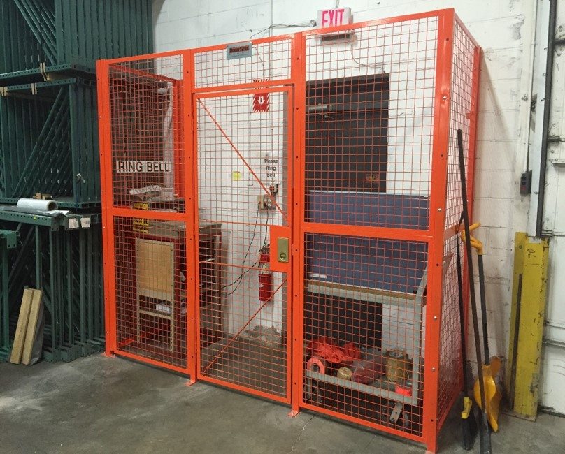 Welded Mesh Driver Cage